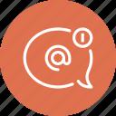 bubble, chat, communication, conversation, email, message, speech