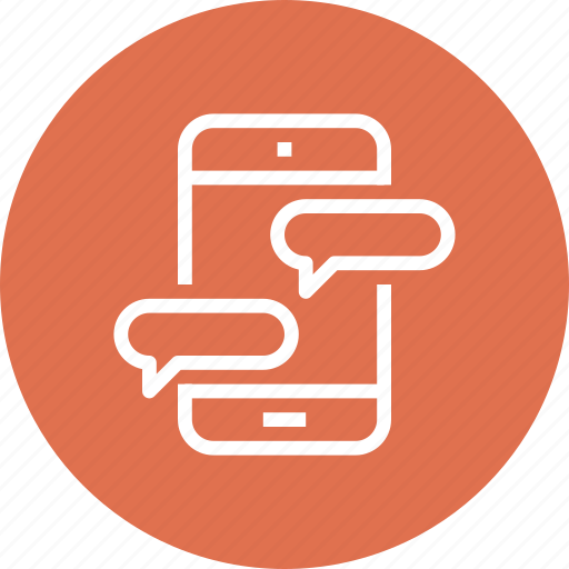 Bubble, chat, communication, message, mobile, phone, speech icon - Download on Iconfinder