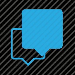 bubble, chat, message icon