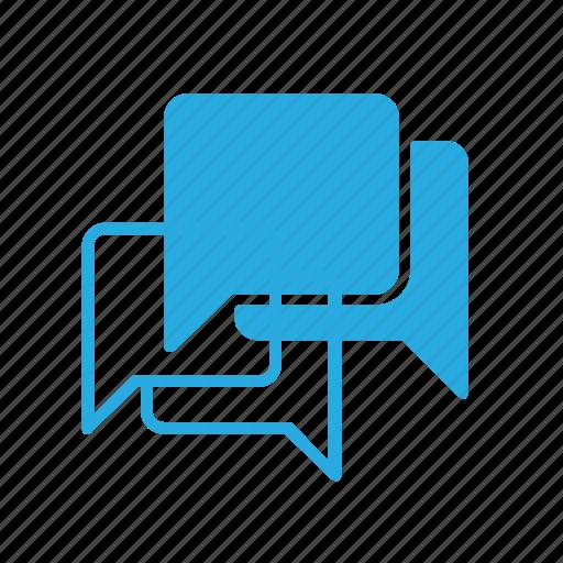 bubble, chat, conversation, message, messages icon