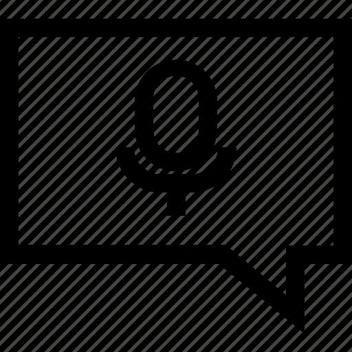 audio, message, messages, multimedia, sound, voice icon
