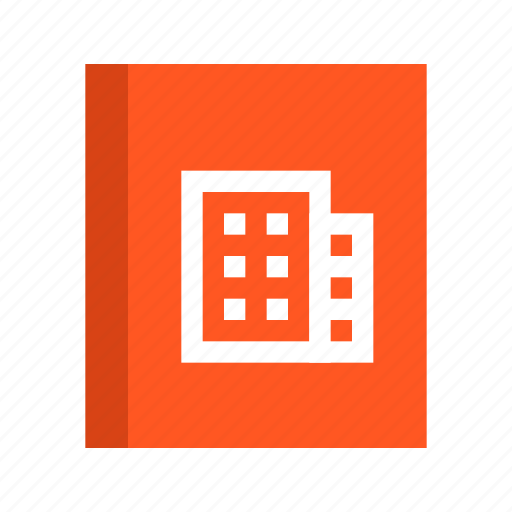 address book, business, contact, contacts, office icon