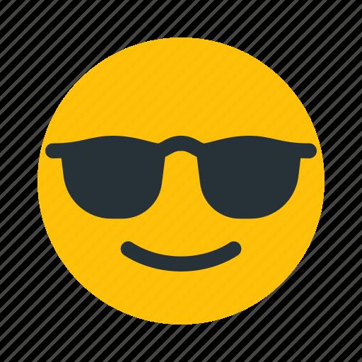 boss, cool, emoticon, smiley icon