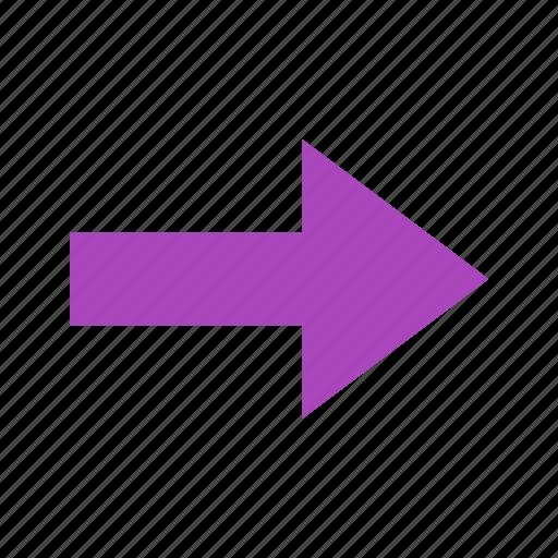 arrow, direction, forward, move, next icon