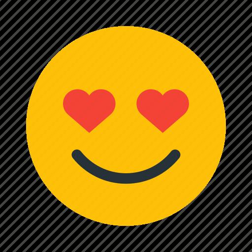 face, heart, in, love, romantic, valentine icon
