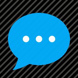 bubble, chat, comment, message, neutral, speech, talk icon