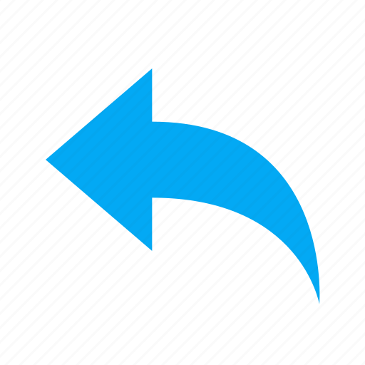 arrow, message, reply icon