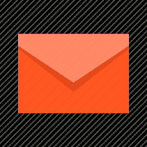 envelope, letter, mail, message, unread icon