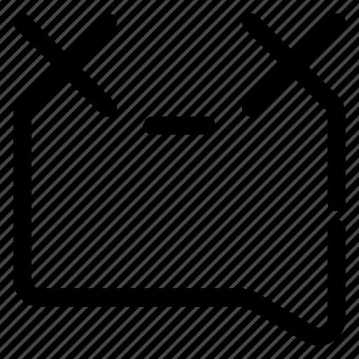 Emoticon Japanese Kaomoji Killed Nervous X X Icon