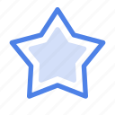 bookmark, favorite, like, love, rate, rating, star icon