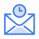 clock, loading, message, time, timer, waiting, watch icon