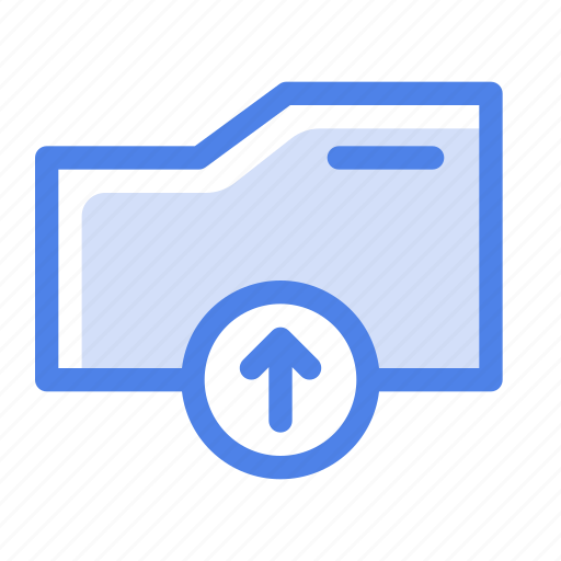 arrow, document, file, file type, folder, interface, upload icon