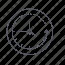 clock, clockwise, progress, time icon