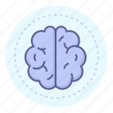 brain, idea, intelligence, mind icon