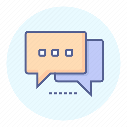 chat, conversation, dialogue, message icon