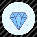 diamond, jewelery, luxury, shine icon