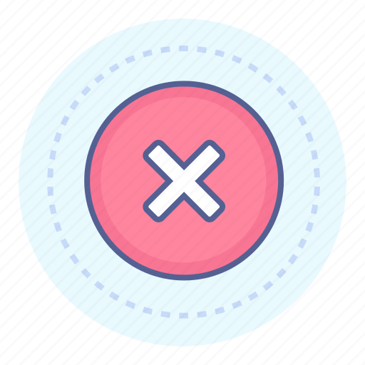 Cancel, delete, fail, stop icon - Download on Iconfinder