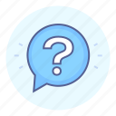 ask, curiosity, question, quiz icon