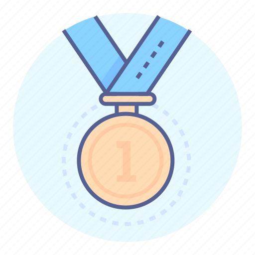 champion, medal, prize, winner icon