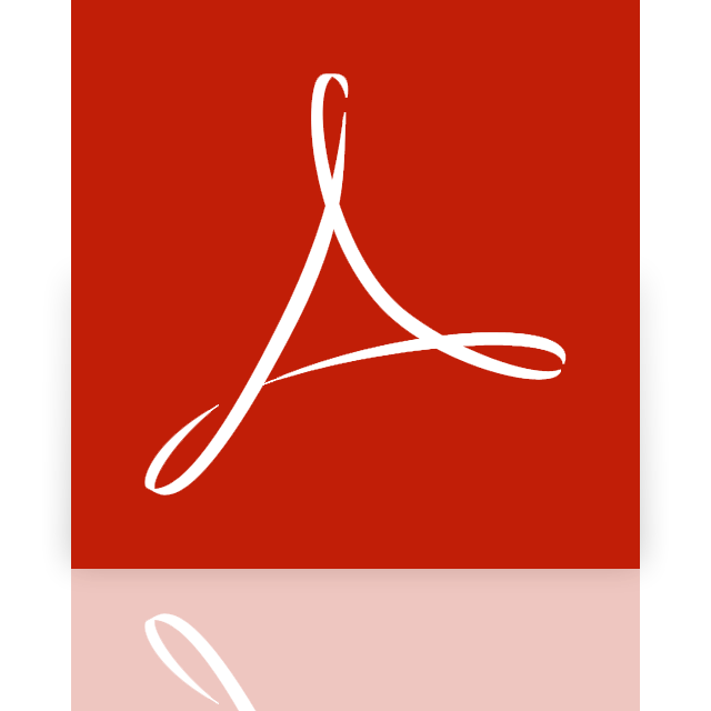 acrobat, adobe, mirror, reader icon