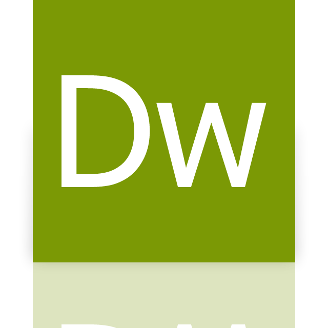 adobe, dreamweaver, mirror icon
