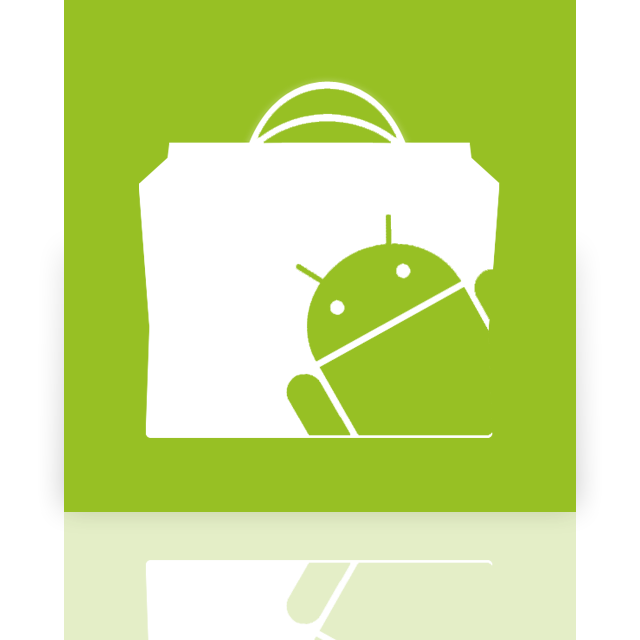android, market, mirror icon