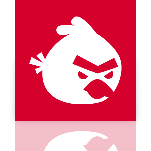 angry, birds, mirror icon