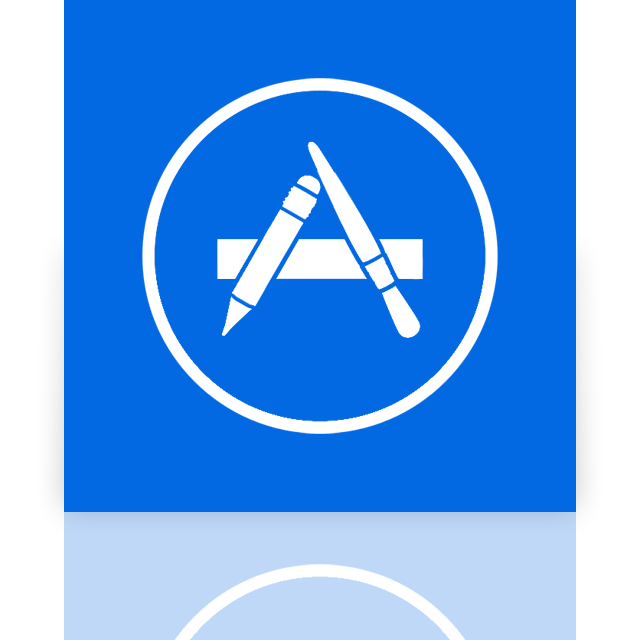 app, mirror, store icon