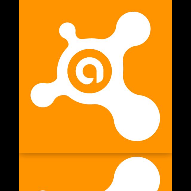antivirus, avast, mirror icon