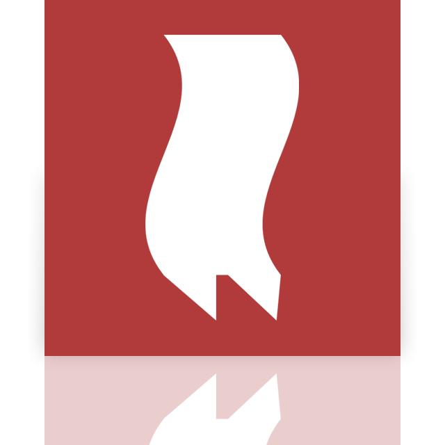 bookmarks, mirror icon