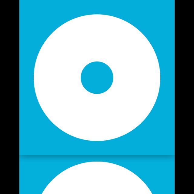 cd, mirror icon
