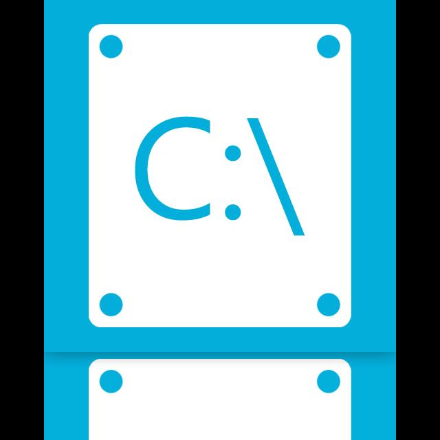 c, mirror icon