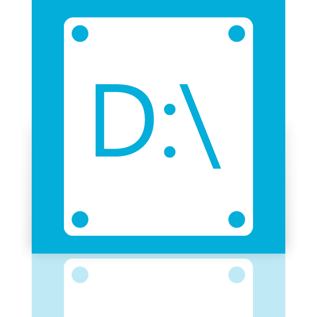 d, mirror icon