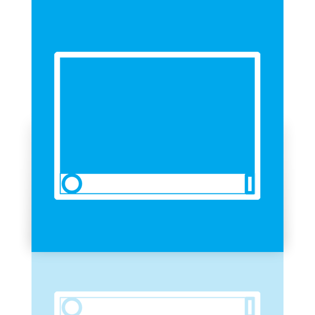 desktop, mirror icon