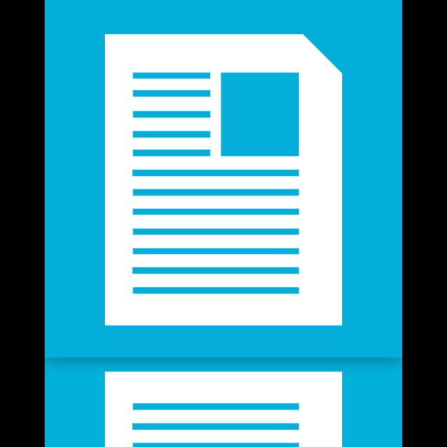 documents, mirror icon