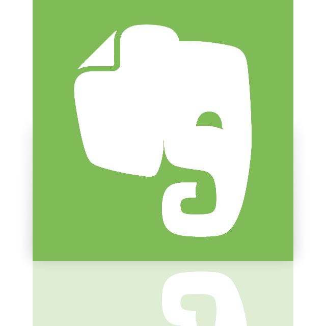 evernote, mirror icon