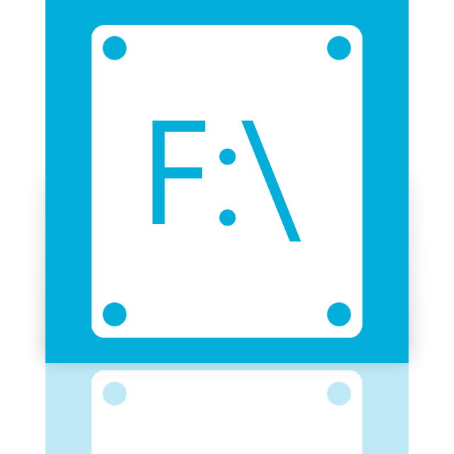 f, mirror icon