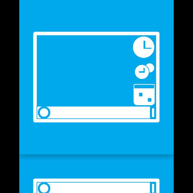 gadgets, mirror icon