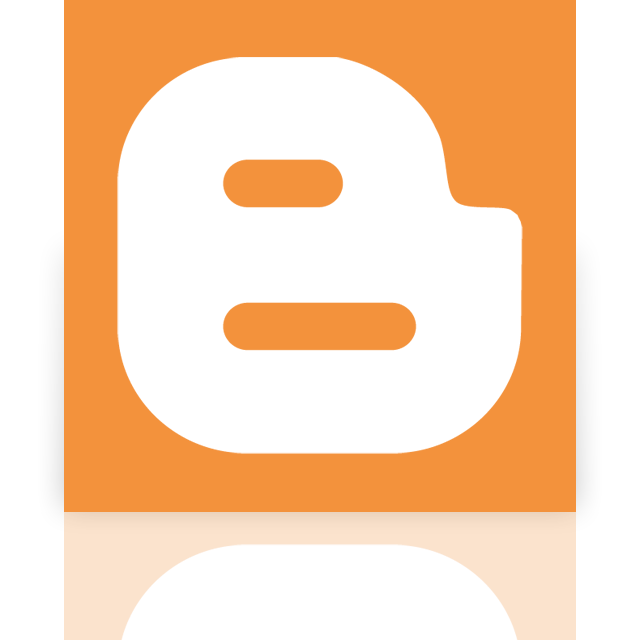 blogger, google, mirror icon