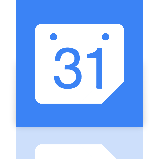 calendar, google, mirror icon