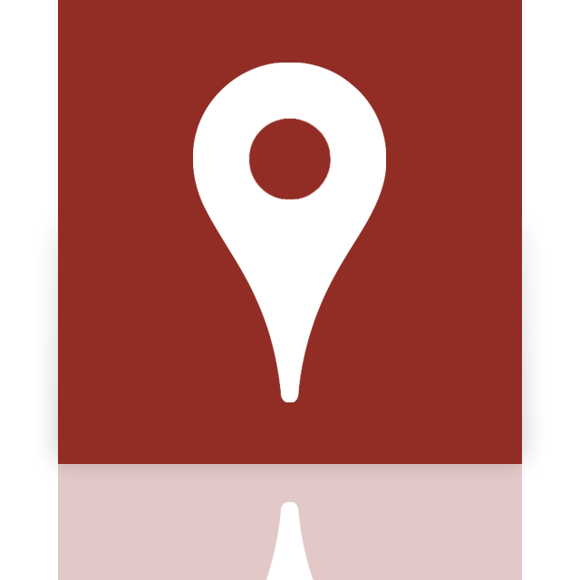 google, maps, mirror icon