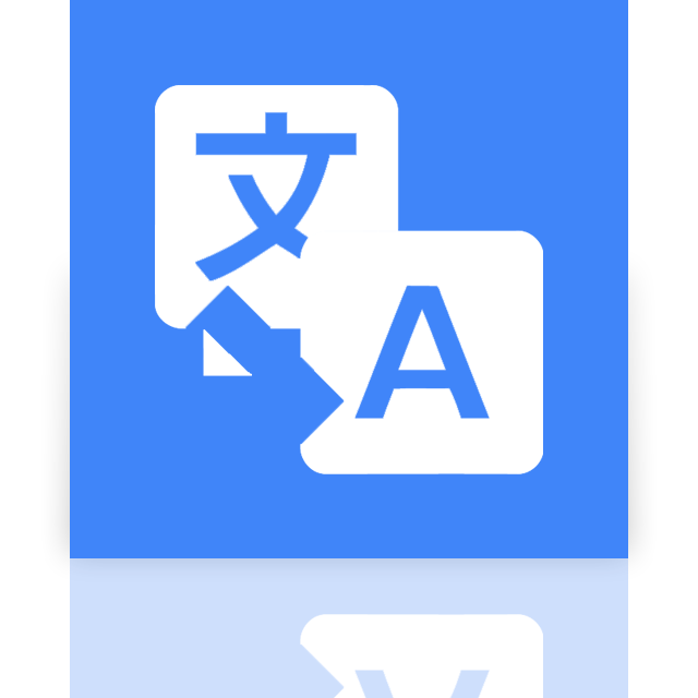google, mirror, translate icon