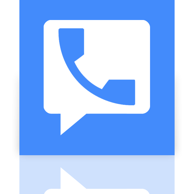 google, mirror, voice icon