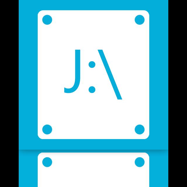 j, mirror icon