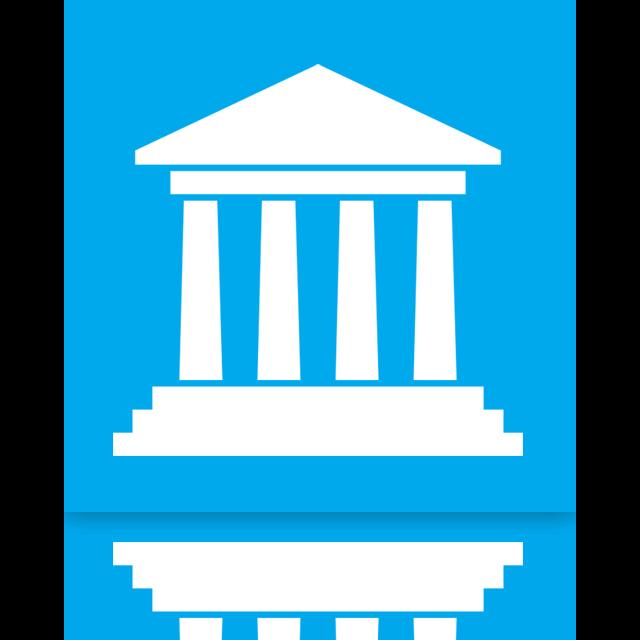 libraries, mirror icon