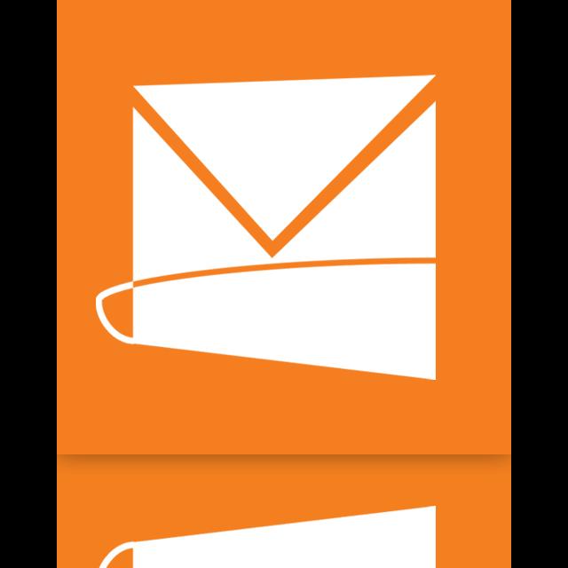 hotmail, live, mirror icon
