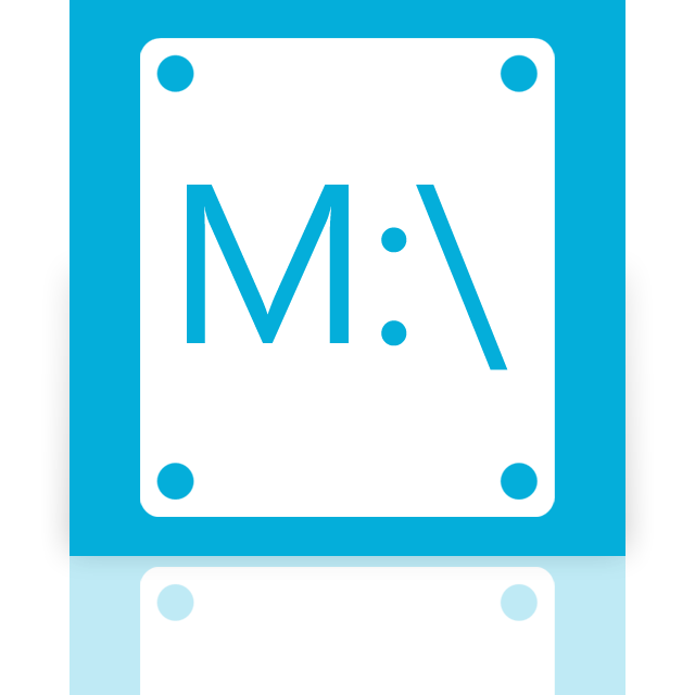 m, mirror icon