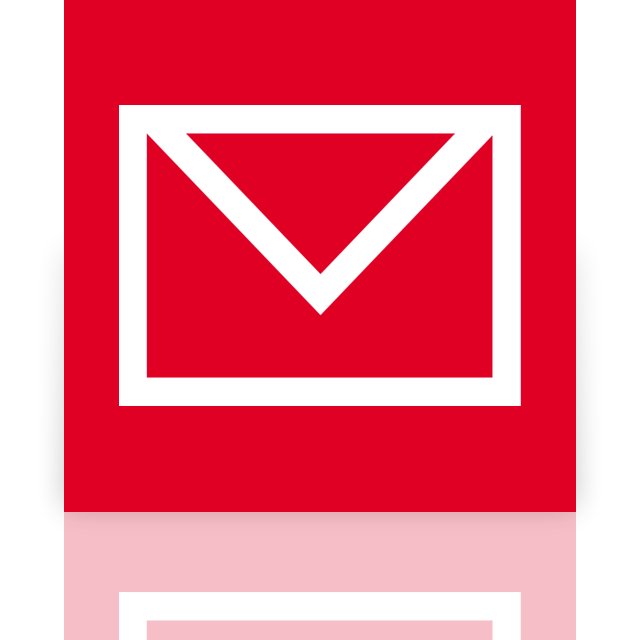 mail, mirror icon