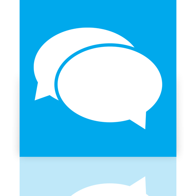 messaging, mirror icon