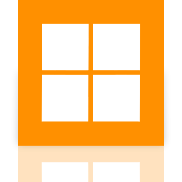 microsoft, mirror, store icon